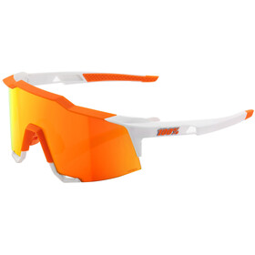 100% Speedcraft HD Multilayer/Hiper Glasses Tall soft tact day glo orange/white